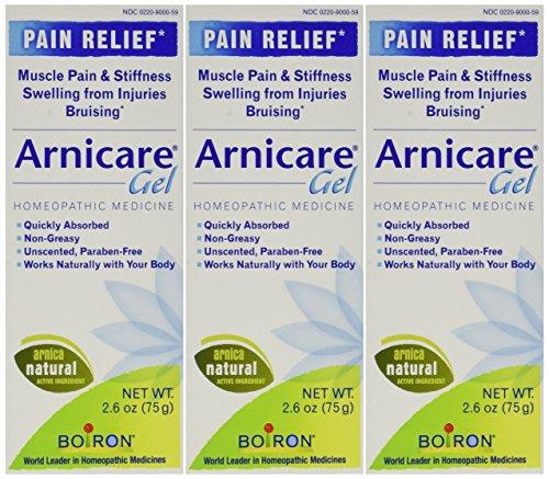 Boiron Arnicare Arnica Gel, 2.6 Ounce (Pack of 3)