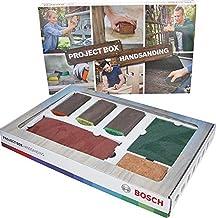 Bosch 15-delige Projectiebox set (voor hout, kleur en metaal, accessoires voor schuurprojecten).