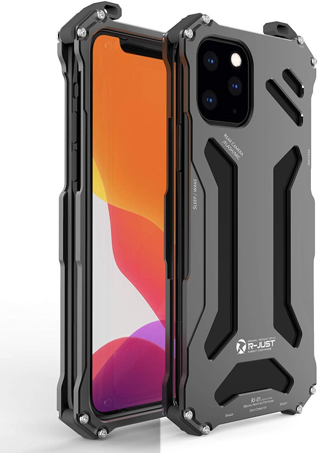R JUST Shockproof Resistance Aluminum Protective