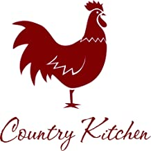 Quotes Vinyl Wall Art Decals Saying Words Removable Lettering Country Kitchen Rooster Decal for Dining Room