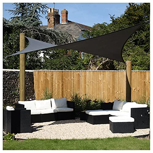 LJP Toldo Sombra Exterior Rectángulo Cuadrados De Vela Privacidad De Balcón Impermeable 95% Bloque UV para Jardín, Patio,Cubierta Automóvil (Size:3 * 5m (10'*16'))