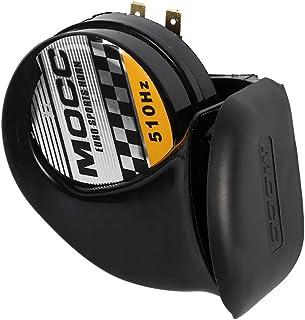 115DB 510Hz Bocina de sirena para coche, Cuerno de caracol eléctrico a prueba de agua, Cuerno de aire 12V para motocicleta Auto Coche Scooter