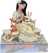Enesco Disney Traditions White Woodland Mulan Figurine