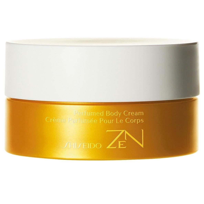 ピッチ起きる出演者[Shiseido ] 資生堂禅香りのボディクリーム200ミリリットル - Shiseido Zen Perfumed Body Cream 200ml [並行輸入品]