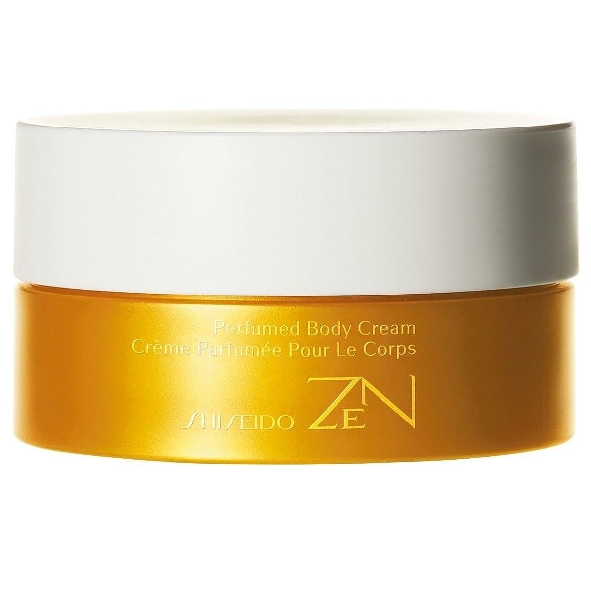 独占刺激する無駄に[Shiseido ] 資生堂禅香りのボディクリーム200ミリリットル - Shiseido Zen Perfumed Body Cream 200ml [並行輸入品]
