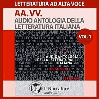 Audio Antologia della Letteratura Italiana 1 (dal 1200 al 1700) copertina