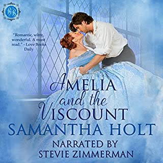 Amelia and the Viscount     Bluestocking Brides, Book 1              By:                                                                                                                                 Samantha Holt                               Narrated by:                                                                                                                                 Stevie Zimmerman                      Length: 2 hrs and 34 mins     4 ratings     Overall 3.8