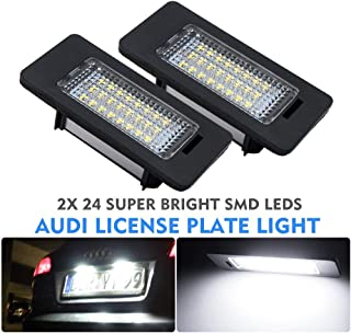 number plate lights - MASO 2x LED License Number Plate Light Canbus for Audi A4 S4 B8 A5 S5 TT Q5 VW PASSAT