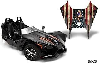 AMR Racing Graphics Polaris Slingshot SL 2015-2016 Vinyl Wrap Hood Kit - WW2