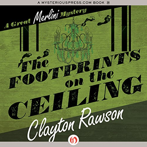 The Footprints on the Ceiling audiobook cover art