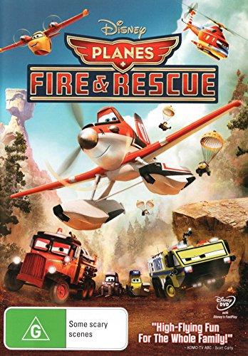 Planes Fire and Rescue | NON-USA Format | PAL | Region 4 Import - Australia