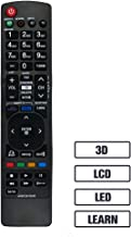 LuckyStar Replacement Lost Remote Control for LG AKB72915238 LCD LED HD 3D TV, Compatible with 42LW5700 42LV3700 42LV5400 47LV3700 47LV5400 47LV5500 47LW5600 47LW5700 55LW5700 55LV3700