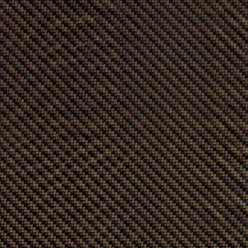 L.J.JZDY Wassertransferfilm 10 m x 1 m Hydro Dip Film Carbonfaser 10 m Länge Wassertransferdruck Film 1 m Breite Schwarz + Gold