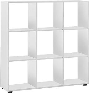 13Casa - Capri A11 - Libreria. Dim: 105x33x109 h cm. Col: Bianco. Mat: Nobilitato.