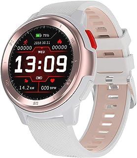 YZY Reloj Inteligente de la versión 2019, rastreador de Actividad de Pulsera de Fitness con Monitor de sueño de frecuencia cardíaca, Pulsera de Salud con Reloj de podómetro para Mujeres Hombres
