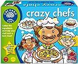 Juego de la marca Orchard Toys, modelo Crazy Chefs