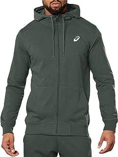 Asics Mens Sport Knit Long Sleeve Full Zip Sweatshirt Hoodie Hoody Jacket Top