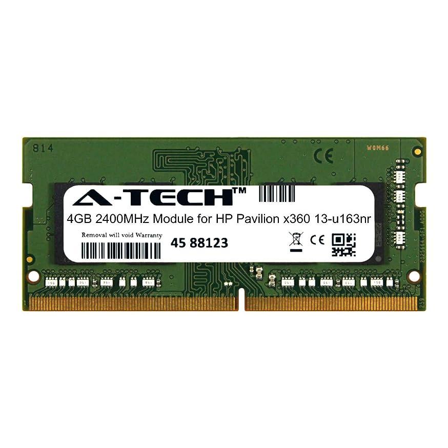 A-Tech 4GB Module for HP Pavilion x360 13-u163nr Laptop & Notebook Compatible DDR4 2400Mhz Memory Ram (ATMS312752A25824X1)