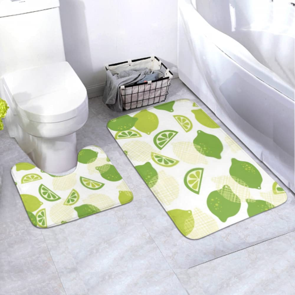 Bath Mat famous Set Contemporary Limes Tile White 2 Wallpaper Seamless Financial sales sale