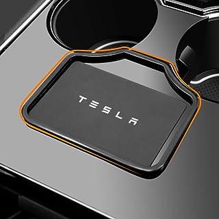 Passend für Tesla Modell 3 Schlüsselkartenhalter Modell Y Schlüsselkartenhalter Upgrade Metallmaterial Tesla Modell 3 2017–2020 Zubehör