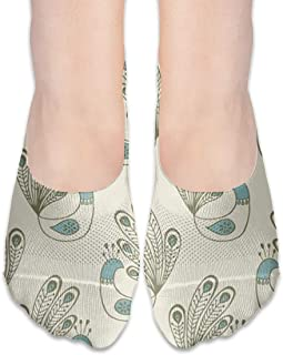 Calcetines Dollar Money Pattern Trendy Womens Low Cut Calcetines atléticos invisibles para niña