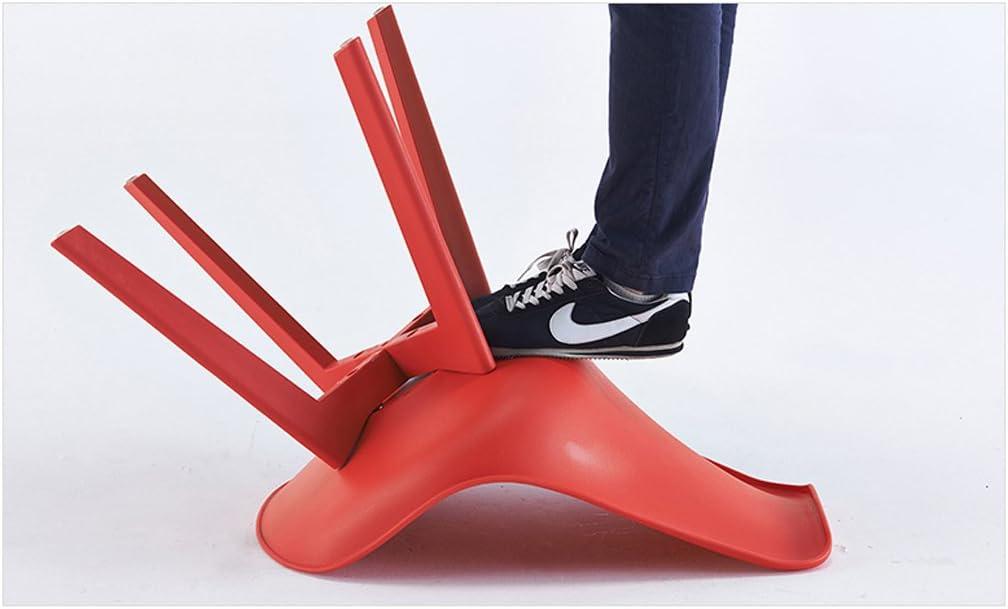 HXF- Chaise de Salle à Manger en Plastique décontracté Chaise de conférence à Simple Fauteuil Durable (Color : D) C