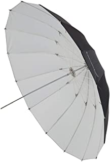 UNPLUGGED STUDIO 40inch White Umbrella 16 Fiberglass Rib,Includes Portable Carrying Bag