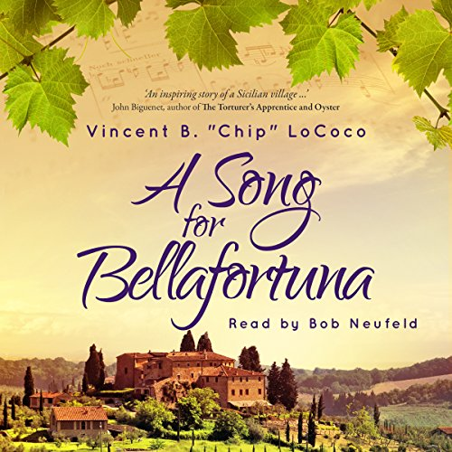A Song for Bellafortuna audiobook cover art