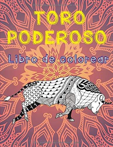 Toro poderoso - Libro de colorear