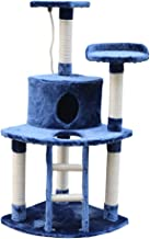 Bigbanana Multi-Layer Cat Tree Activity Tower Super Soft Pet Kitty Furniture Cat Condo with Cat Scratching Post and Ladder Perfect for Large and Small Pet Cat