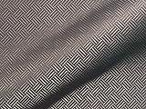 Tela para muebles resistente al fuego SAO Paulo FR, diseño abstracto, color gris como tela de tapicería robusta, tejido acolchado estampado para coser y relacionar, poliéster FR