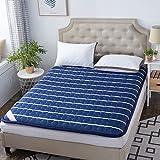 IUYJVR Tatami Bodenmatte, traditionelles Japanisches Futon Japanisches Bett Queen-King Dorm Dünne Matratzenauflage Washable-I