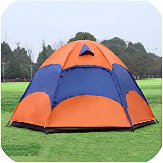 Tokyo Cold-Tents 5 8 Person Mongolian Yurt Tent with Mosquito Net Waterproof Folding Separated Double Layer Camping Fishing Summer Beach Tent