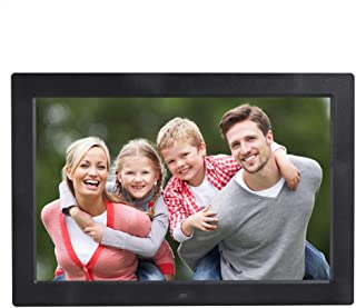 13 inch High-Definition Digital Photo Frame Electronic Photo Frame Showcase Display Video Advertising Machine Durable (Col...
