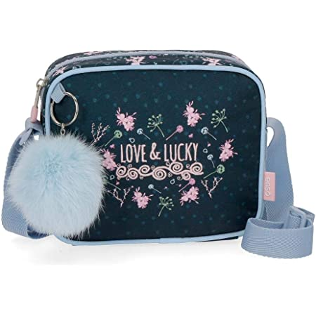 Enso Love and Lucky Bandolera Pequeña Multicolor 18x15x5 cms Poliéster