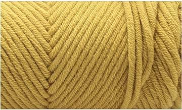 Ovillo de lana de algodón natural y suave para tejer lana de bebé de ganchillo, 100 g por unidad, 20, the size, 1