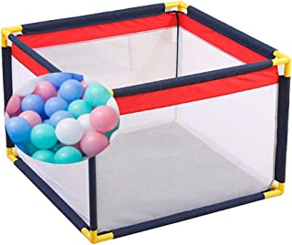 XHJYWL Playpen Baby Care Play with Balls  Panel Portable Play Yard Indoor And Outdoor Kids Activity Center for Infants