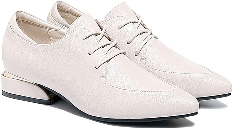 Gailongjunnvxie GLJXG Spring Women's shoes\ Comfortable Pointed shoes\ Fashion Casual shoes Women's shoes (Two colors Optional)