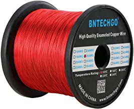 BNTECHGO 26 AWG Magnet Wire - Enameled Copper Wire - Enameled Magnet Winding Wire - 3.0 lb - 0.0157