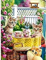 大人のためのジグソーパズル1000ピース-かわいい猫のペット-キッズパズルおもちゃ教育パズルジグソー