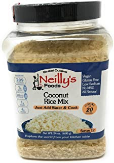 Neilly's, Rice Mix Coconut, 24 Ounce