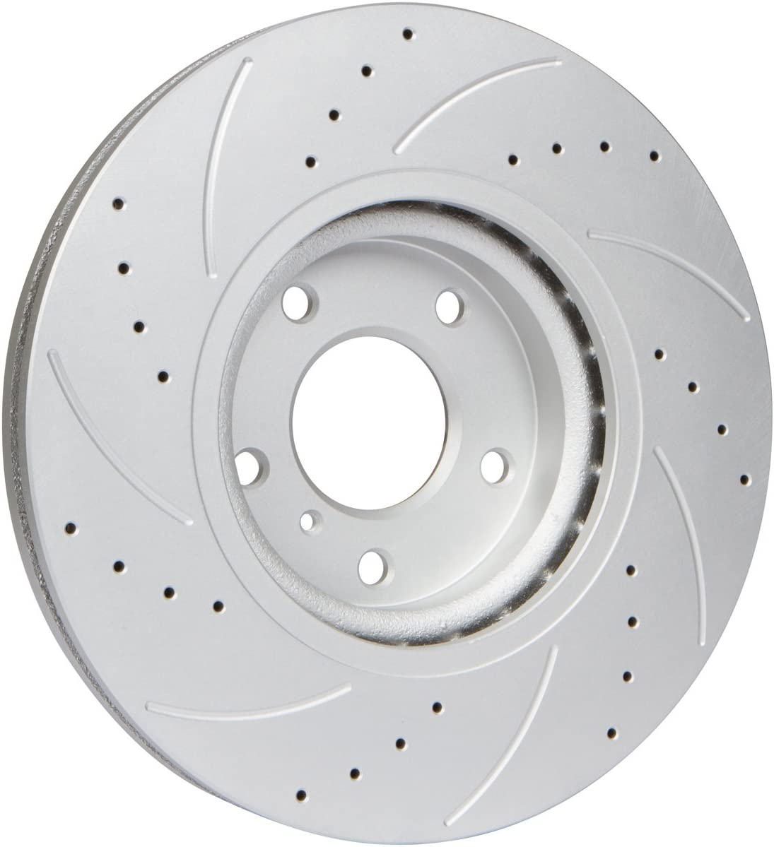 FRONT /& REAR DRILLED AND SLOTTED PERFORMANCE BRAKE Rotors For BMW 330 E46