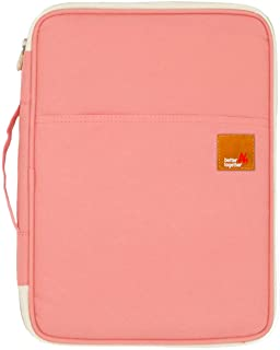 Christmas Gift for Women, Universal Travel Gear Organizer/Electronics Accessories Bag/Document File Bag (Large, Coral)
