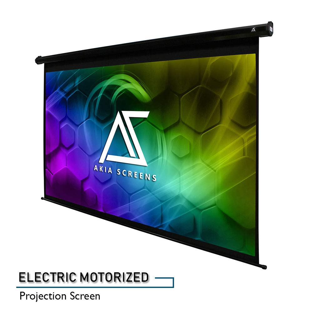 Screens Motorized Electric Projection Screen