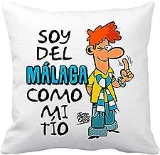Diver Bebé Cojín con Relleno Soy del Málaga como mi tío ...