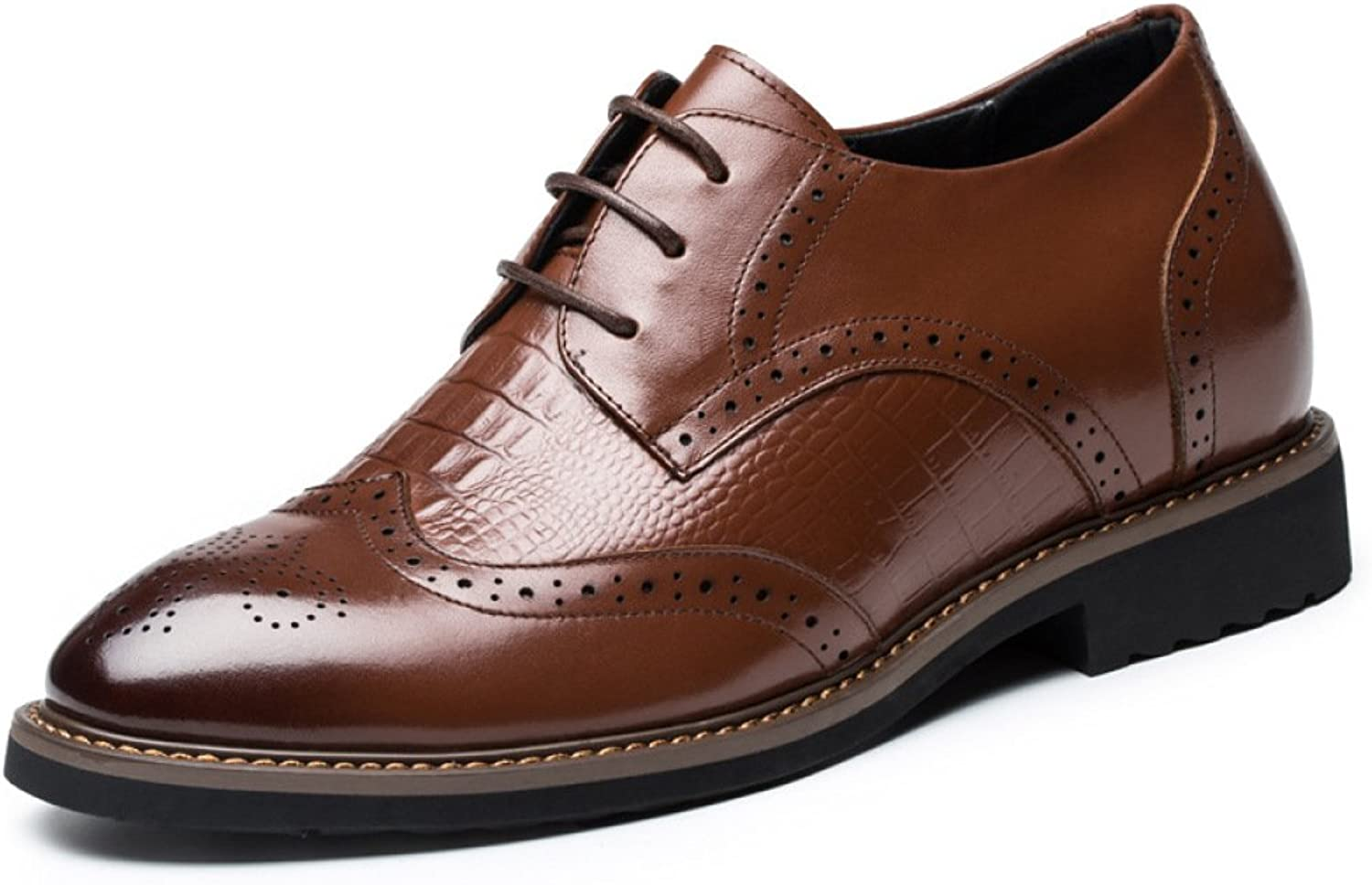 Men's Oxford shoes Carved Business Classic Formal Lace-ups Brogues For Men Classic Office Leather shoes