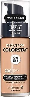 Revlon ColorStay Liquid Foundation For Combination/oily Skin, SPF 15 Nude, 1 Fl Oz