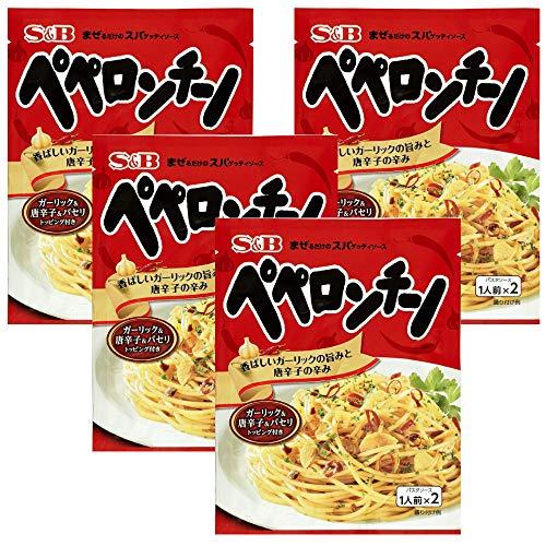 S&B まぜるだけのスパゲッティソース ペペロンチーノ 44.6g×4袋