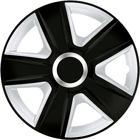 Cm Design Radkappen 14 Zoll Esprit Rc Schwarz Silber Radzierblenden Für Fast Jede Handelsübliche Stahlfelge Auto