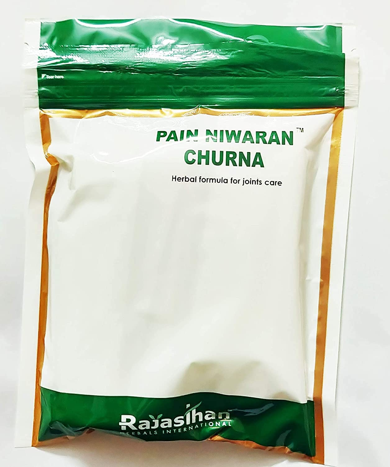 Spare Spring new work one after another Inventory cleanup selling sale Rajasthan herbals Pain Niwaran Yellow 135g Pack Churna